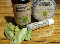 Beerded Beard Company Bundle: All Natural Hop Infused Beard Care & Lip Balm Set
